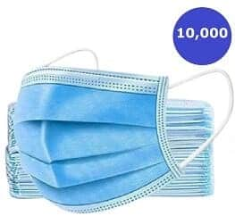 GS-Medical-Surgical-Disposable-Face-Mask-3 Layer-Ear-Loop-Soft-Breathable-10000-gsmedic.com