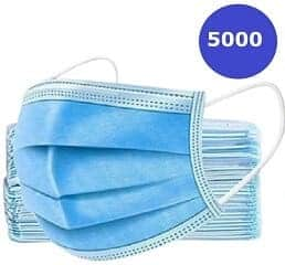 GS-Medical-Surgical-Disposable-Face-Mask-3 Layer-Ear-Loop-Soft-Breathable-5000-gsmedic