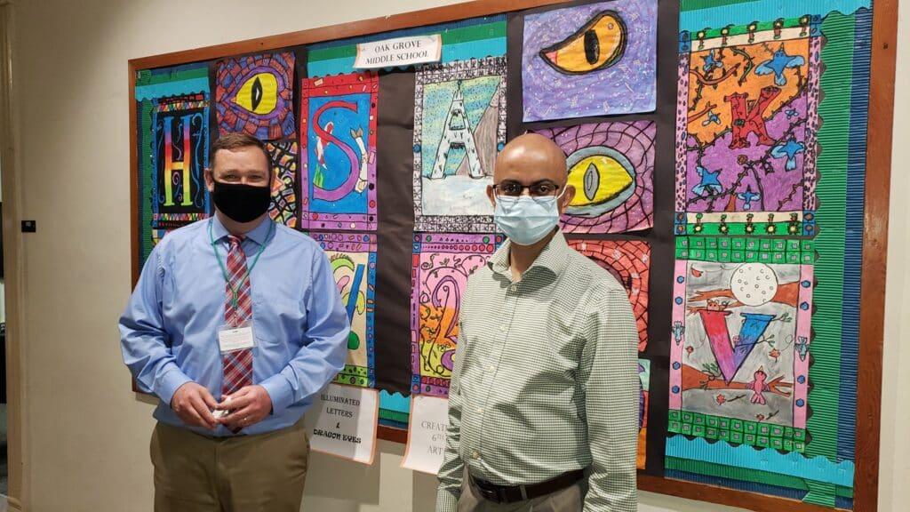 Disposable-face-mask-donation-Davidson-School-System