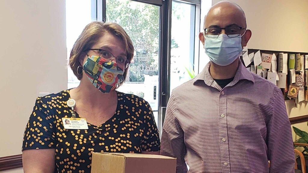 Disposable-face-mask-donation-wake-forest-hospital