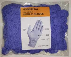 GS Medical disposable nitrile glove-small-1